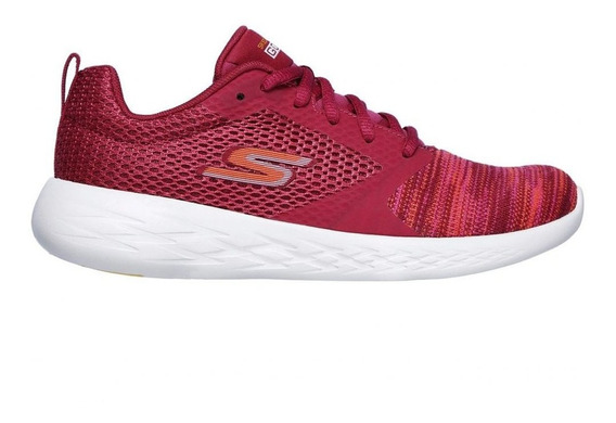 Zapatillas Skechers Go Run 600 Reactor Rosa - Cornerdeportes