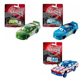 Disney Cars 3 - Kit Com 4 Carrinhos Dentre 18 Modelos Mattel