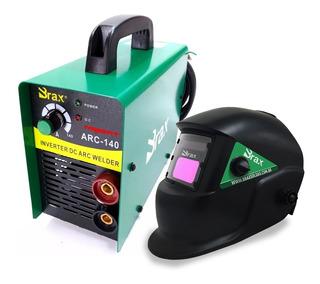 Maquina Inversora De Solda Brax 140 Amperes 220v + Mascara