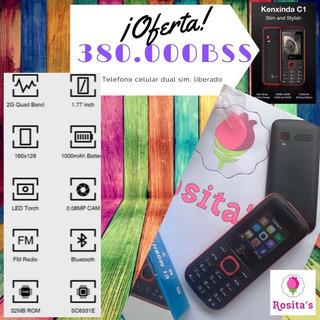 Celular C1 Basico Telefono Kenxinda Kxd(380mil)