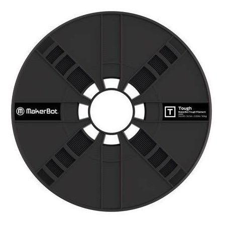 Filamento Makerbot Tough Pla Large Spool Onyx Black (375-00