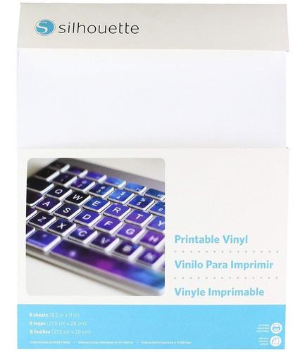 Imagen 1 de 2 de Silhouette Printable Vinyl Material Vinil Imprimible