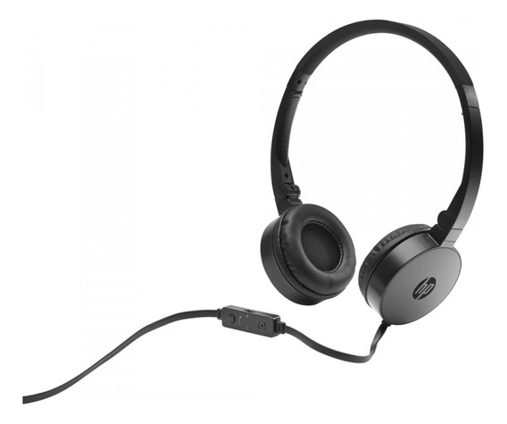 Fone C/mic Dobravel H2800 Preto Hp