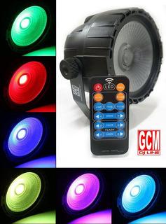 Par Led Cob 10w Rgb+uv Dmx + Control Remoto Gcm Lpcob-10