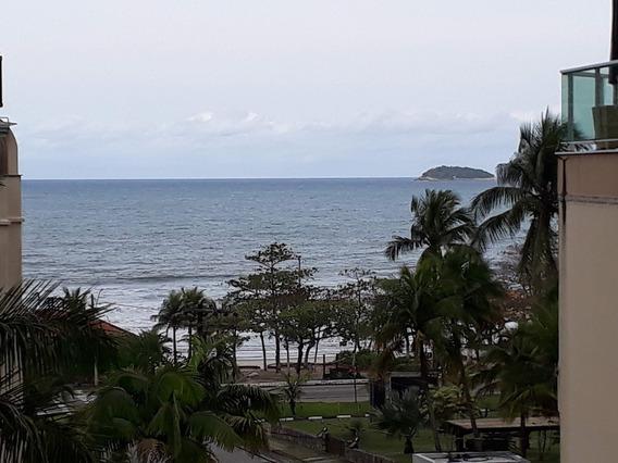 Cobertura Praia Grande, Vista Do Mar, 3/4, 3 Wc, 2 Vagas