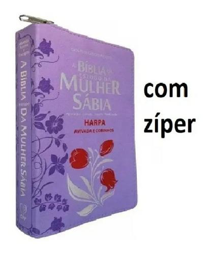 Bíblia Sagrada Da Mulher Harpa Estudo Feminina