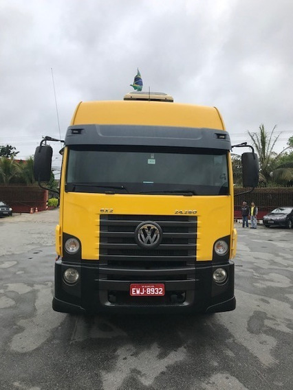 Vw 24280 Constellation Ano 2013 Com Chassi 10,5m