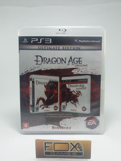 Ps3 Jogo Dragon Age Origins Collection