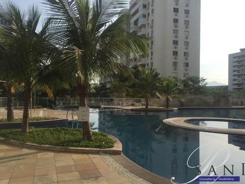 Barra Aquagreen, 2quartos (suite), Andar Alto, Semi Mobiliado, Lazer Completo - Ap00416 - 2375000