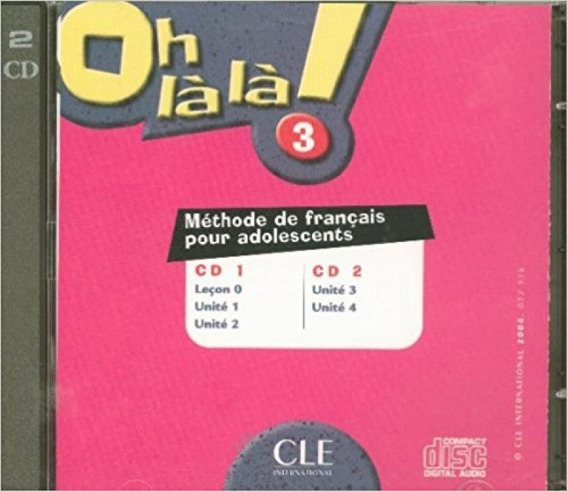 Oh Là Là! 3 - Double Cd Audio Collectif - Cle Internationa