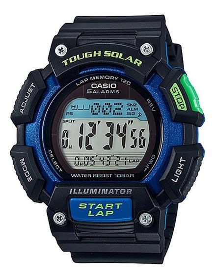 Relógio Casio Masculino Touch Solar Stl-s110h-1bdf