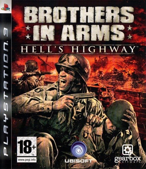 Jogo Brothers In Arms - Hell´s Highway (novo) Ps3