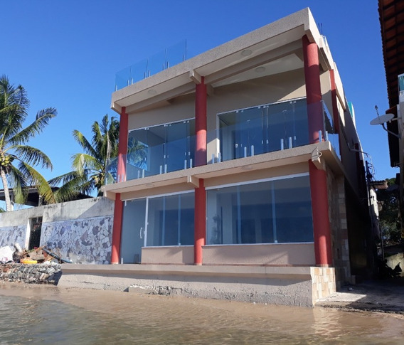 Casa 3 Quartos Sendo 2 Suítes Frente Mar 387m2 Em Gamboa - Lit135 - 33972218