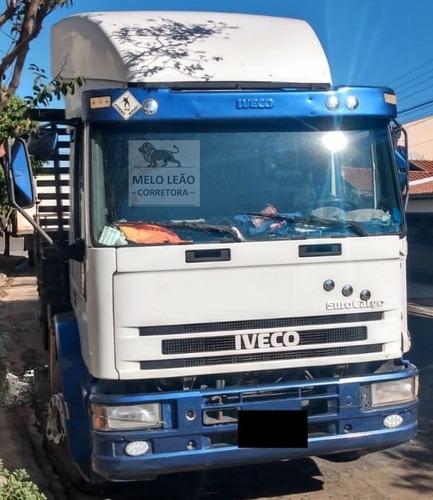 Iveco Eurocargo 230e24n Attack 07/07 Truck, Leito, Carroc 8m