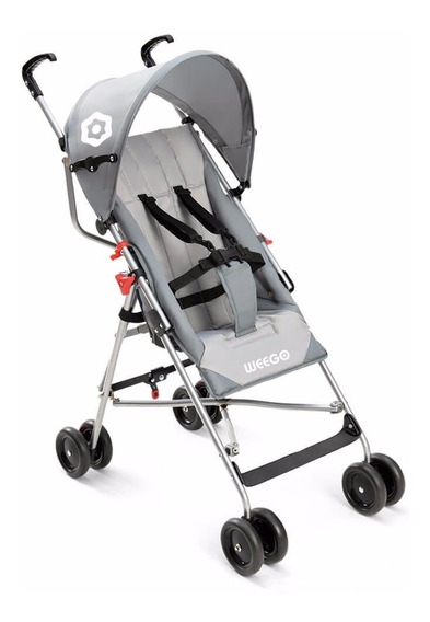 Carrinho De Bebê Multilaser Weego Way Modelo Guarda Chuva