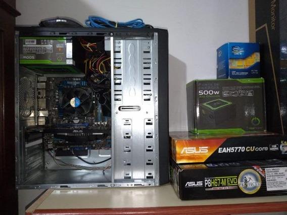 Computador De Mesa (desktop) Completo - Utilizado Para Jogos
