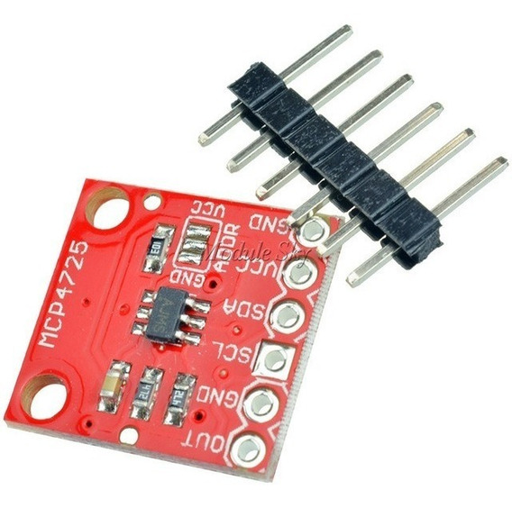 Mcp4725 Modulo Conversor Digital Analógico I2c Dac Arduino