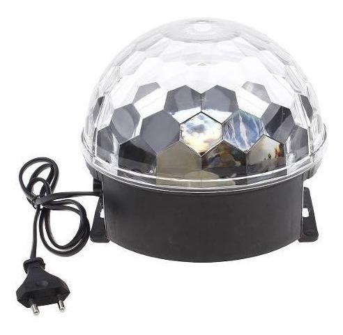 Bola Maluca Bluetooth Laser Globo Festa Crystal Led Celular
