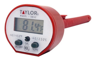 Termometro Digital Impermeable Taylor -40a 232°c Display .4