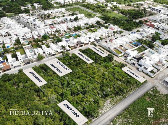 Lotes Residenciales 100% Urbanizados En Pietra Dzityá, Financiamiento 12 Meses