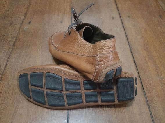 Sapato Richards Couro Natural