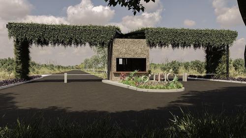 Imagen 1 de 23 de Othó - Terreno Habitacional En Privada Con Luz Y Calles Pavi