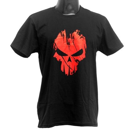 Imagem 1 de 1 de Camiseta Estampada Bravo - Spectra - Preta / Vermelho