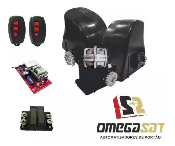 Motor Portão Deslizante Easy 1/4 Omegasat 12s - 3m Crem.