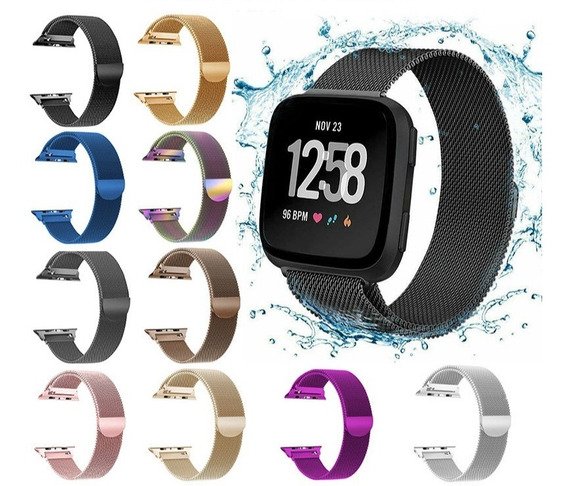 Correa Extensible Acero Milanese Apple Watch 1 2 3 38 Y 42mm