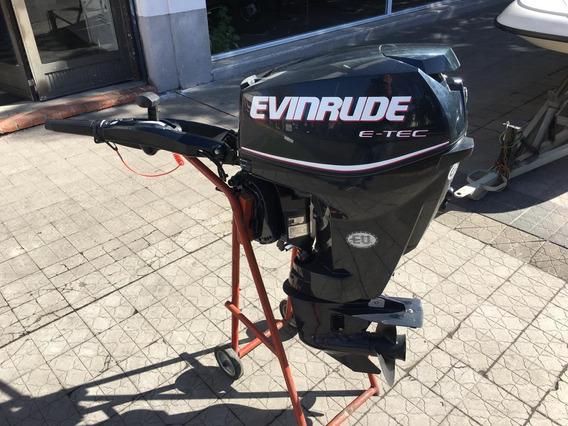 Motor Evinrude 25 Hp Etec