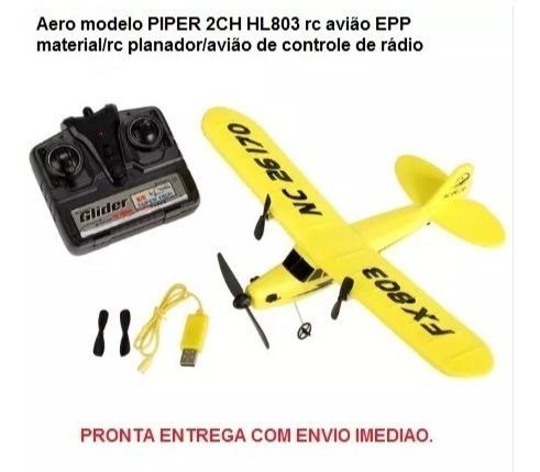 Piper Rc Fx803 Avião Planador 100% Original.