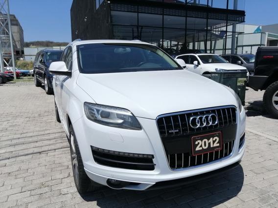 Audi Q7 Elite 2012 Blanco