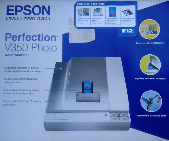 Epson Escaner Perfection V350 Photo Y Escanea Diapositivas