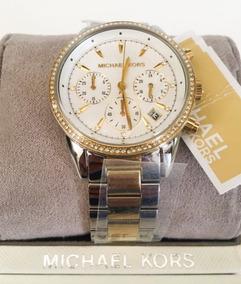 Relógio Michael Kors Ritz White Feminino Mk6474 Original