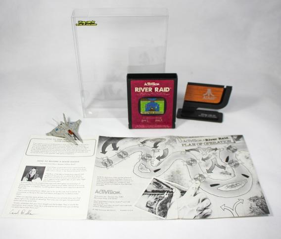 River Raid Activision [ Atari 2600 ] Original + Manual +case
