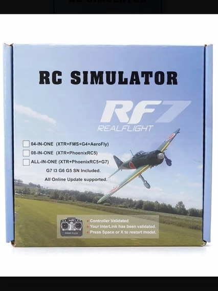 Simulador Phoenix-5 Realflight-7.5 Aerofly