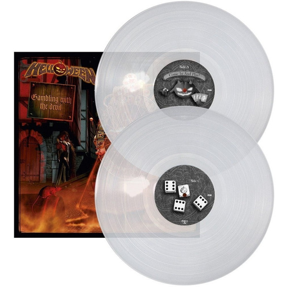 Lp Helloween - Gambling With The Devil Clear Vinil Importado