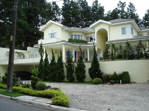 Imagem 1 de 8 de Ref 13,272 Excelente  Casa Em Condomínio Fechado No Residencial Morada Das Estrelas (aldeia Da Serra), Com  4 Suítes, 13 Vagas E 415 M² A.c. ! - 13272