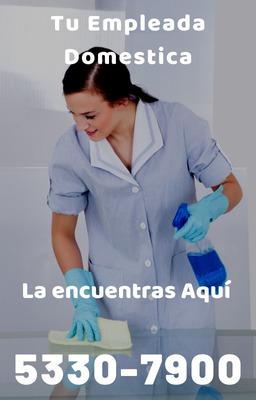 ¿necesitas Empleadas Domésticas? Estamos A Tus Ordenes!