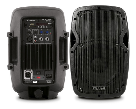Kit Caixa Ativa Frahm Gr8 + Passiva Gr8 400w Usb Sd Bt