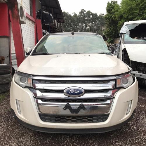 Sucata Ford Edge V6 2013/2013 289cvs Branco Gasolina