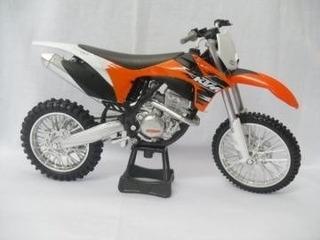 Miniatura Moto Ktm 350 1:12 Motocross Velocross