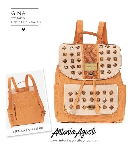 #gina Mochila - Antonia Agosti