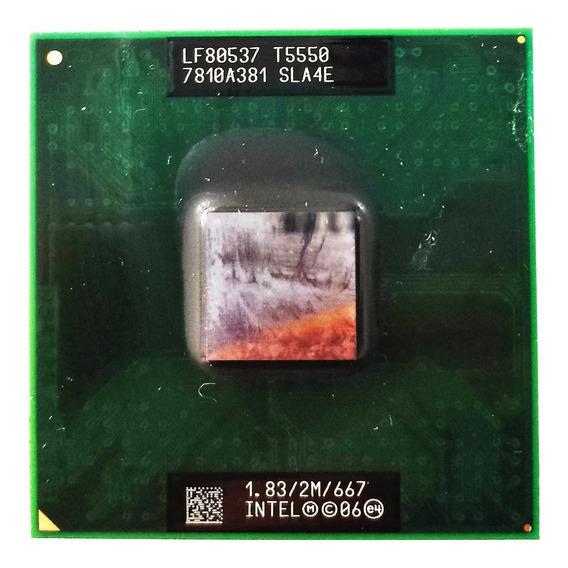 Processador Intel Core 2 Duo T5550 2m 1.83 Ghz 667 Mhz Sla4e