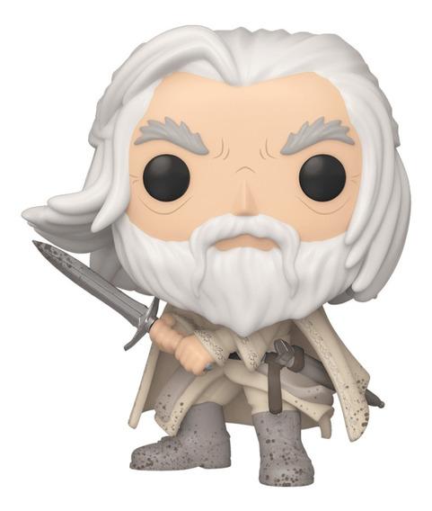 Boneco Funko Pop Senhor Dos Aneis Rings Gandalf O Branco 845
