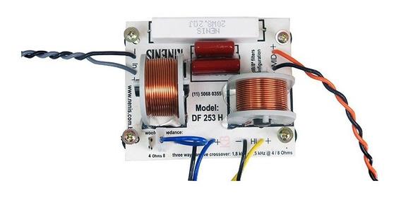Divisor De Frequência Df253h Nenis 3 Vias 250 Watts Fenólico