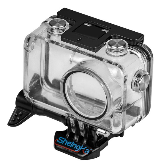 Transparente Sports Action Camera Case Habitação Impermeável