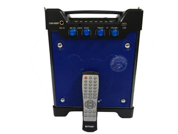 Caixa De Som Bluetooth Amplificada Karaokê 600w