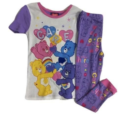 Pijama Morada Ositos Cariñositos Talla 4