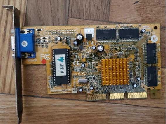 Placa De Video Agp Tnt2 M64 32 Mb